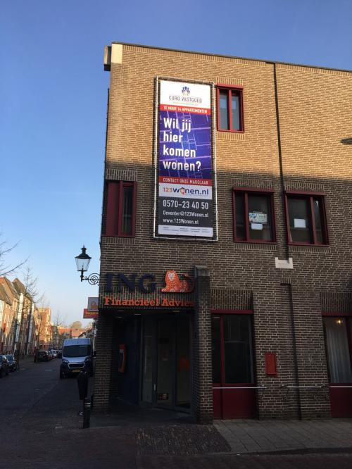 123Wonen proud real estate rental agent of new transformation project in Deventer!